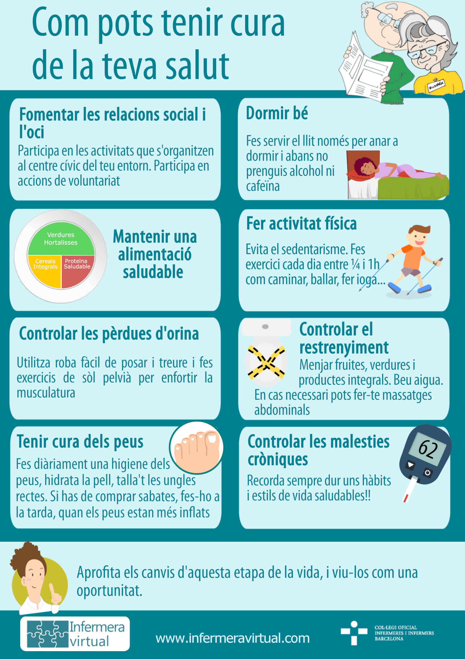 Infografia Vellesa saludable