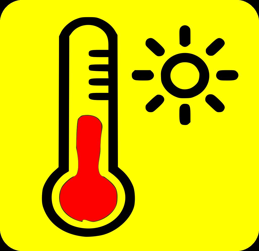 Termometre mesurant la calor
