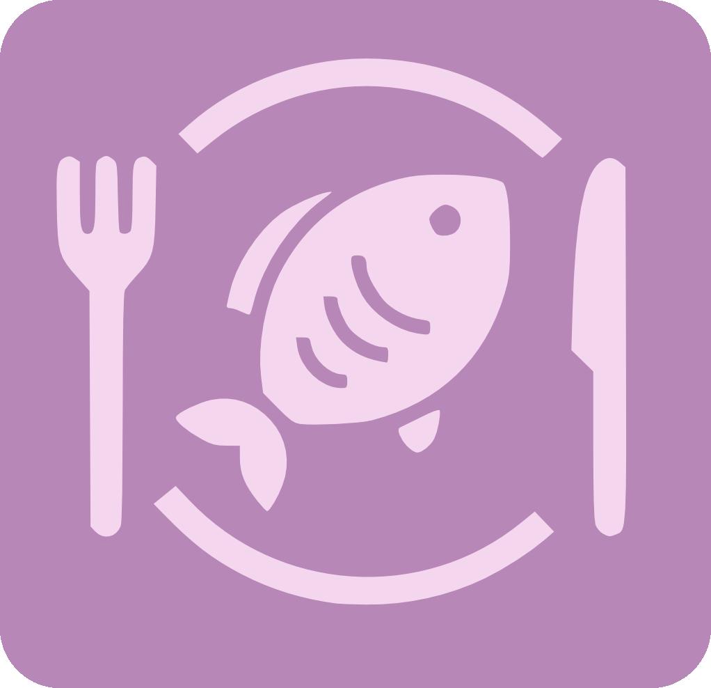 Plat amb un peix