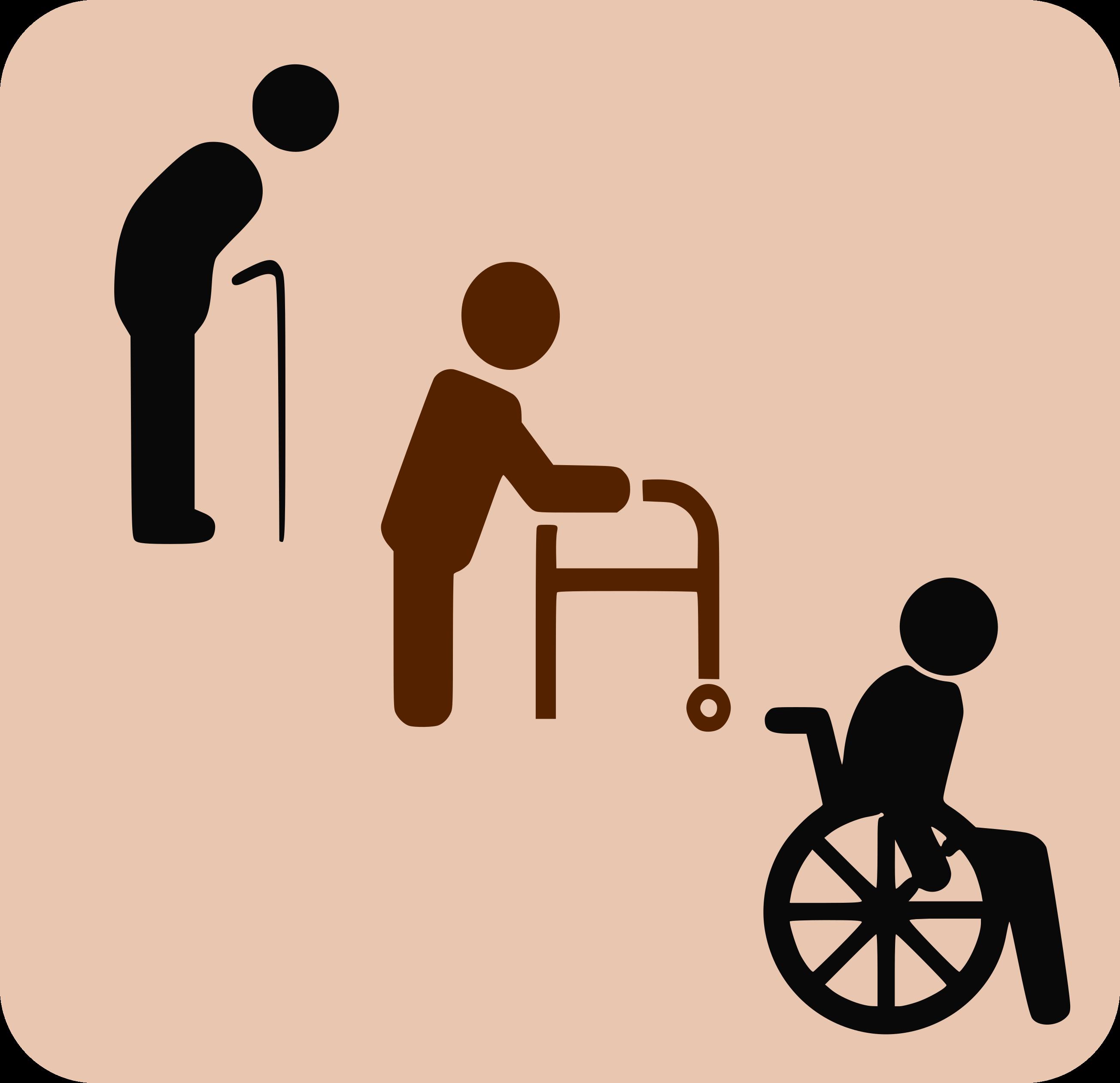 Movilidad gente mayor