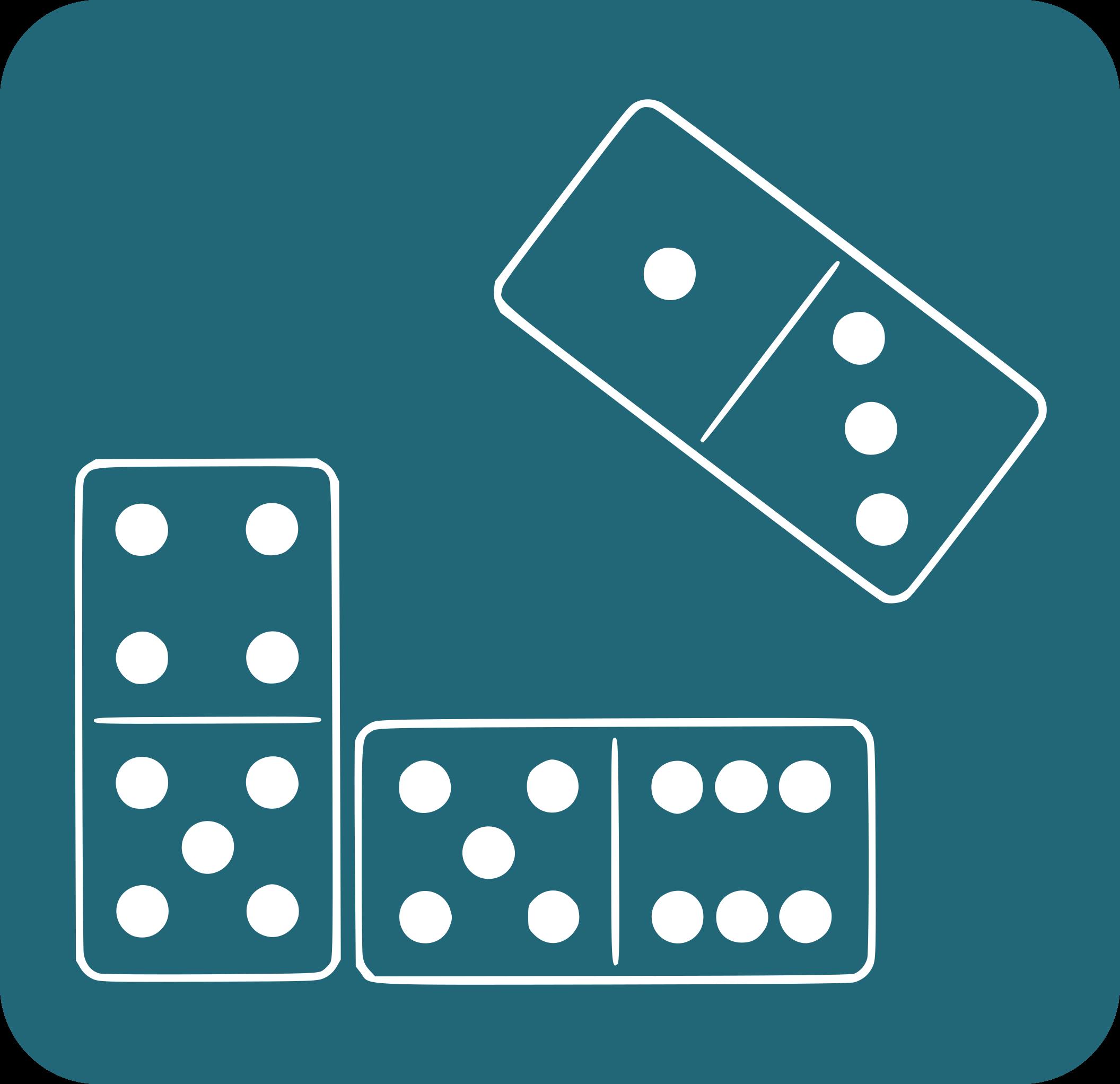 Fitxes del joc dominó
