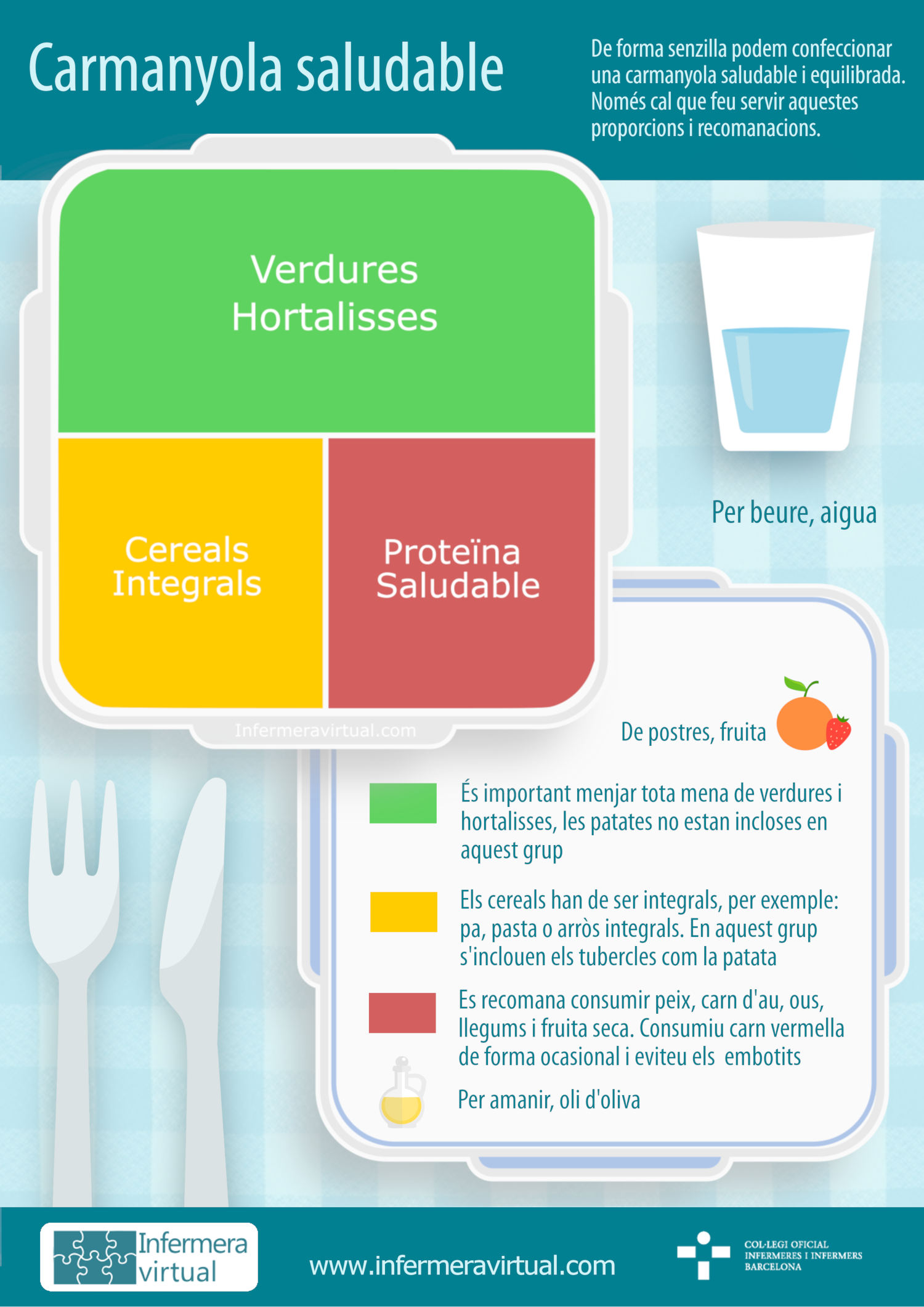 Infografia carmanyola saludable