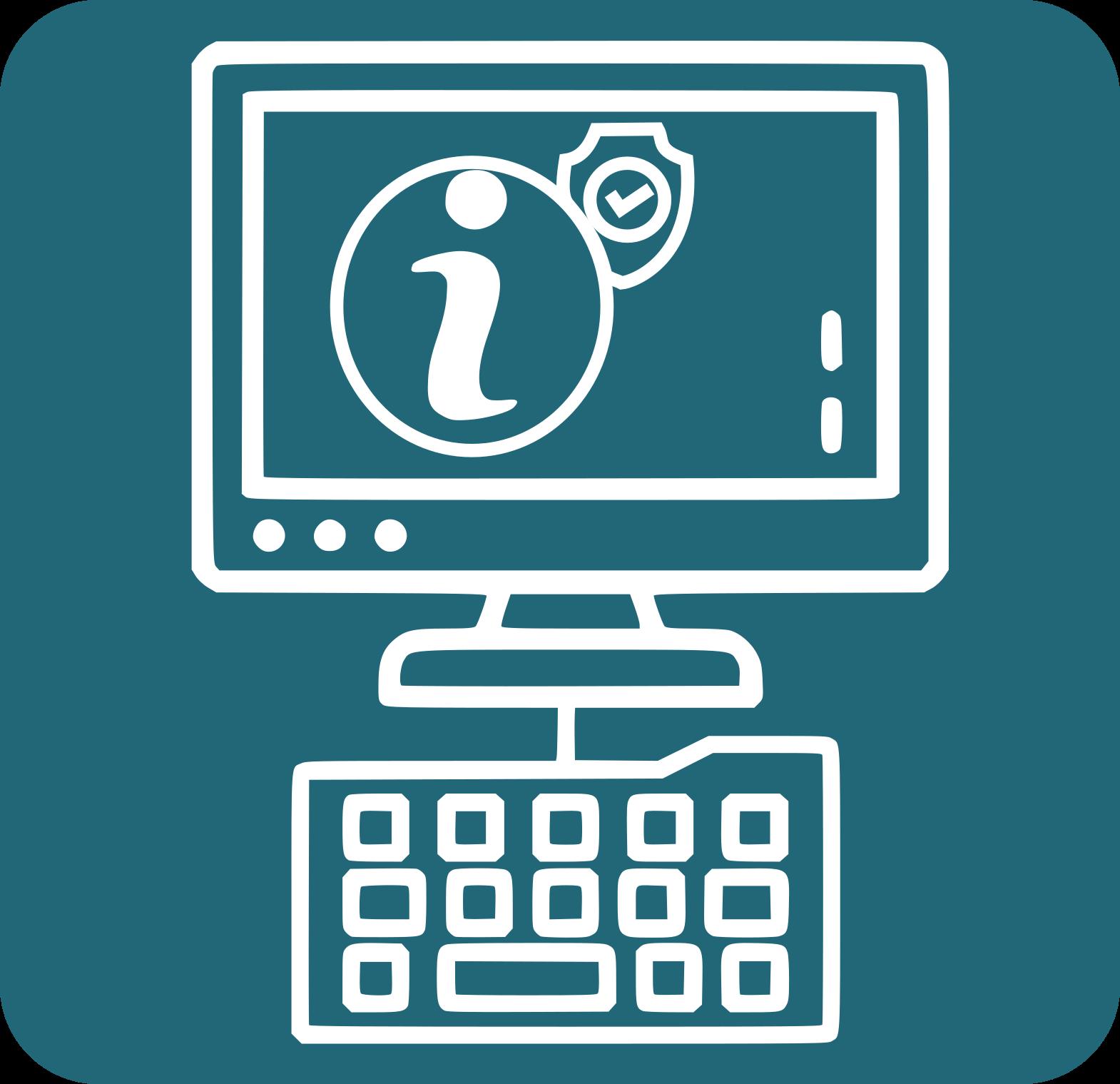 icone ordinador i internet