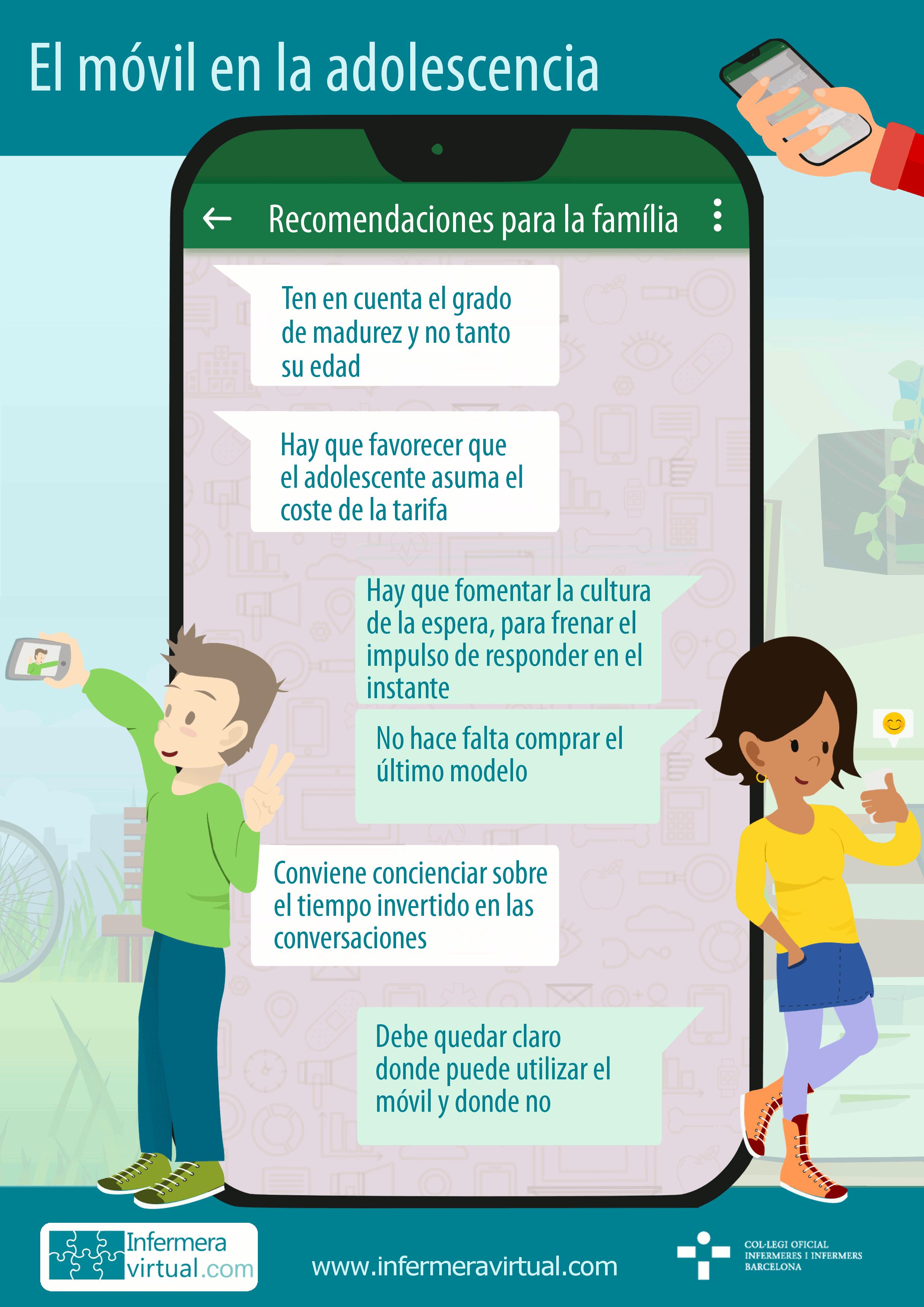 Infermeravirtual.com - Adolescencia, Situaciones de vida